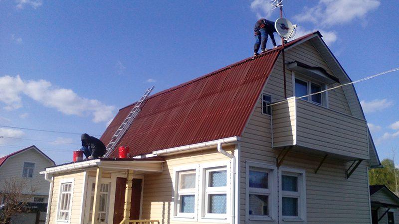 Протекает крыша в частном доме