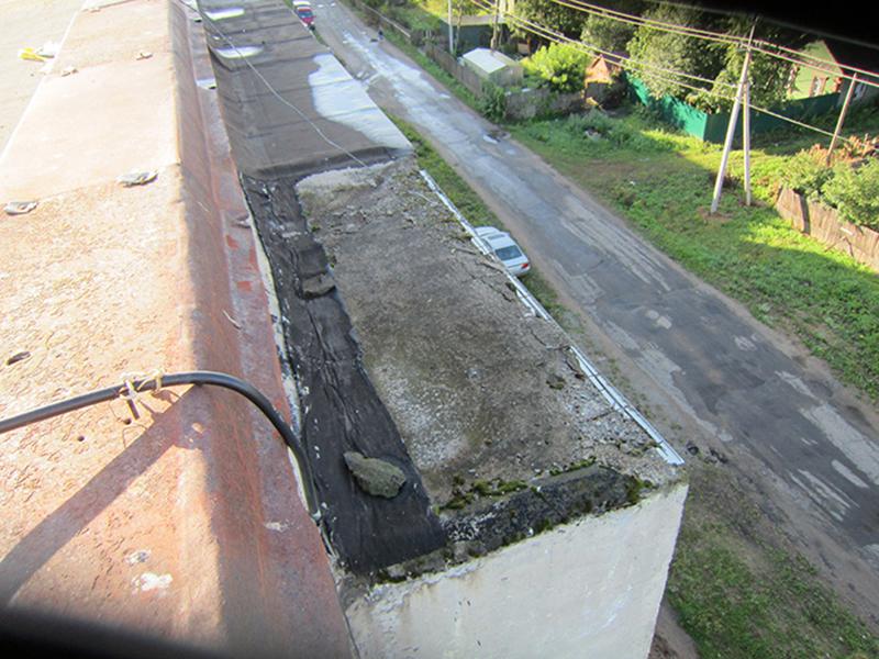 Течет балкон на последнем этаже: причины, как устранить течь.