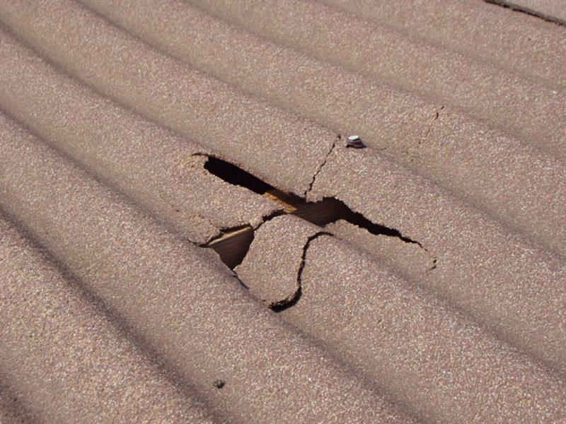 дефект крыши