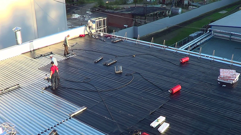 Капитальный ремонт крыши многоквартирного дома
