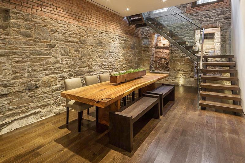 столовая в подвальном помещении
