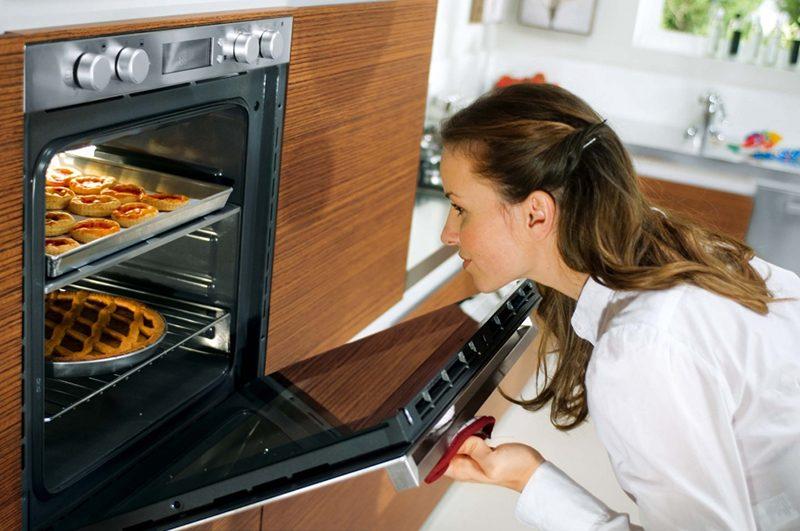 Современные газовые и электрические духовки полностью безопасны