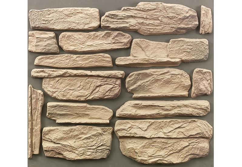 Гипсовые искусственные камни намного легче цементных