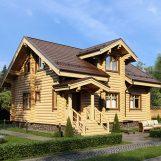 Из чего строить дом — из бруса или бревна?