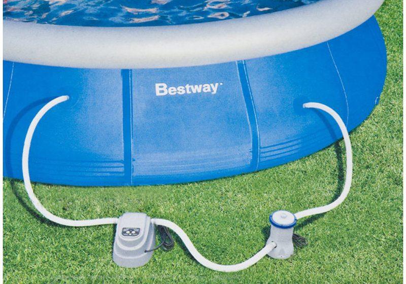 Электронагреватель рекомендован для маленьких бассейнов